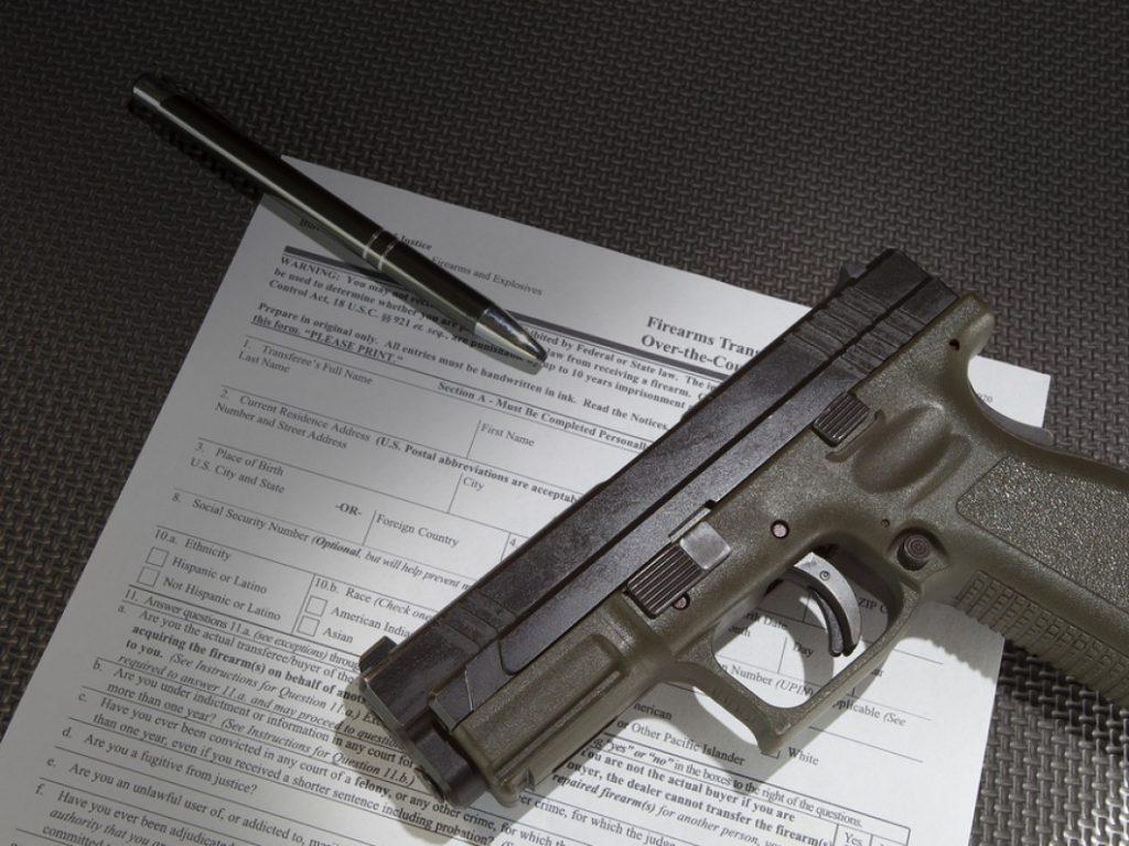 Inbound firearm